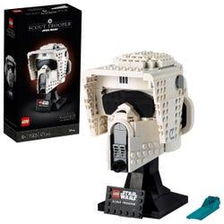 LEGO Star Wars Scout Trooper Helmet Set for Adults 75305