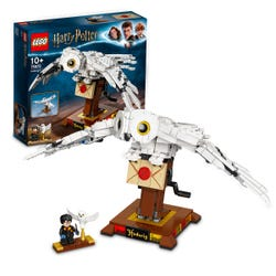 LEGO Harry Potter Hedwig Display Model Moving Wings 75979