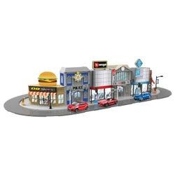 143 Street Fire Bburago City Deluxe, Incl. 1 Car