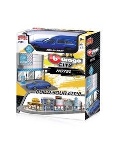 143 Street Fire Bburago City Hotel Incl. 1 Car