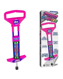 Go Light Up Pogo Stick Go Pink
