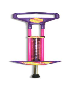 Pogo Stick 100 Cm Pink & Purple