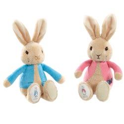 Peter Rabbit Peter & Flopsy Bean Rattles