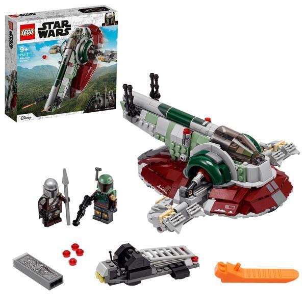 LEGO Star Wars 75312 Boba Fetts Starship