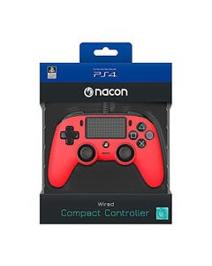 Nacon PS4 Compact Ctrl Red