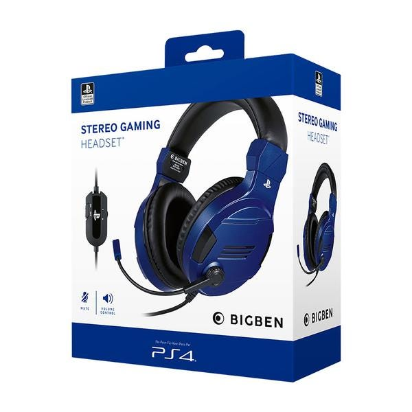 Blue Sony Official Headset