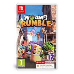 Worms Rumble (Download Code in Box)