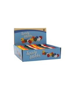 Wood Twisty Blocks