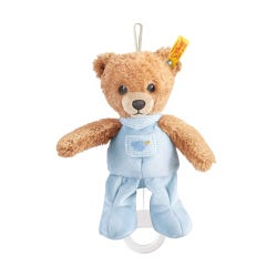 Steiff 20cm Blue Sleep Well Bear Music Box