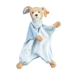 Steiff 30cm Blue Good Night Dog Comforter Soft Toy