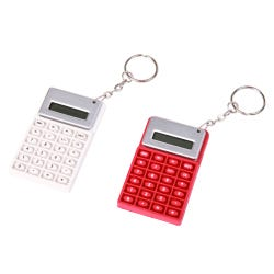 Hamleys White Calculator Keyring