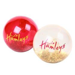 Hamleys Red Glitter Ball