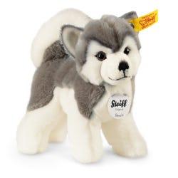 Steiff Grey & White Bernie Husky Soft Toy