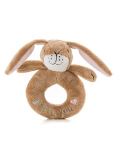 Guess How Much I Love You Little Nutbrown Hare Ring Rattle