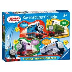 Ravensburger Thomas & Friends 4 Shaped Puzzles