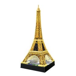 Ravensburger Eiffel Tower Night Edition 216 Piece 3D Puzzle