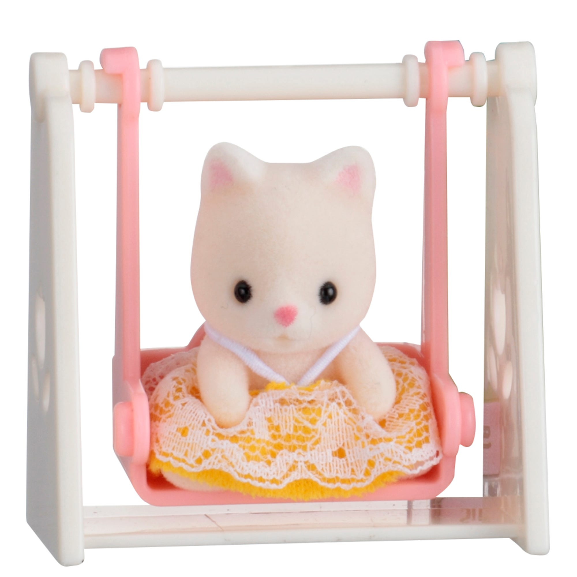 Sylvanian Families Cat Baby On Swing Carry Case