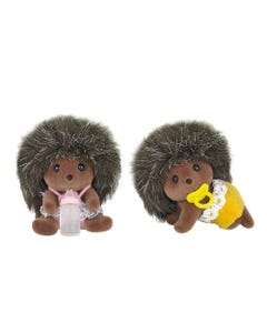 Sylvanian Families Baby Hedgehog Twins