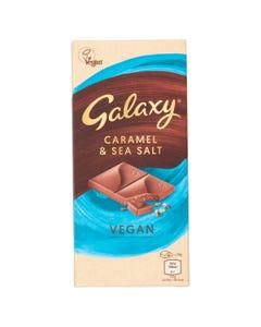 Galaxy Vegan 100G Caramel And Sea Salt (Gluten Free)