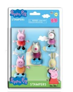 Peppa Pig Stampers 5 Pack