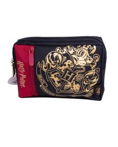 Harry Potter Multi Pocket Pencil Case (Crest & Customise)