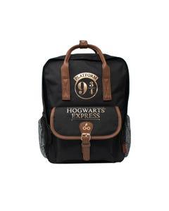 Harry Potter Premium Backpack - Black (Crest & Customise)