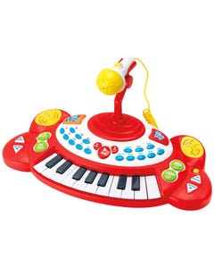 Winfun Electronic Piano with Microphone